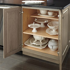 kitchen base cabinet dimensions circle table understand framed and frameless cabinets - masterbrand