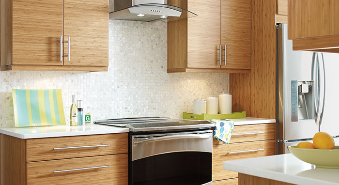 bamboo kitchen cabinets aid professional 6000 hd modern with cabinetry masterbrand in a remodeling project