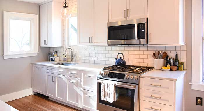 Small Kitchen Renovation  MasterBrand Cabinets