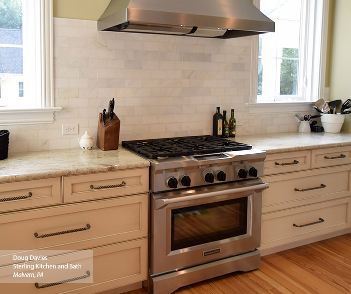 glazed kitchen cabinets narrow cabinet masterbrand off white in a casual