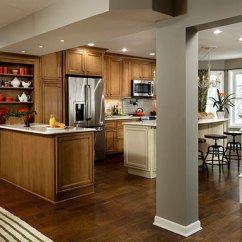 Gray Cabinets Kitchen Rectangle Table With Bench Rachael Ray Remodel Features Maple Cabinetry