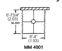 MM-4001 ,Bradley Washroom Equipment,MM-4001 Bradley