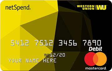 Means the western union netspend prepaid. Prepaid Debit Cards | Credit Cards | Mastercard