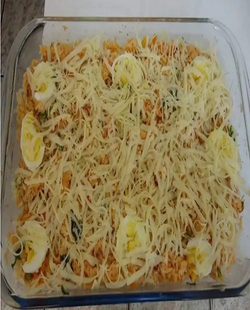 Receita de arroz de forno maravilhosa