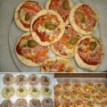 Receita de mini pizza caseira