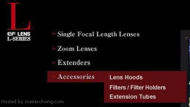 Canon Lens Accessories