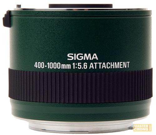 Sigma 200-500 f/2.8 EX DG attachment (2x teleconvetor)