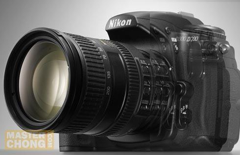 Nikon D700 and D300 Studio Shot