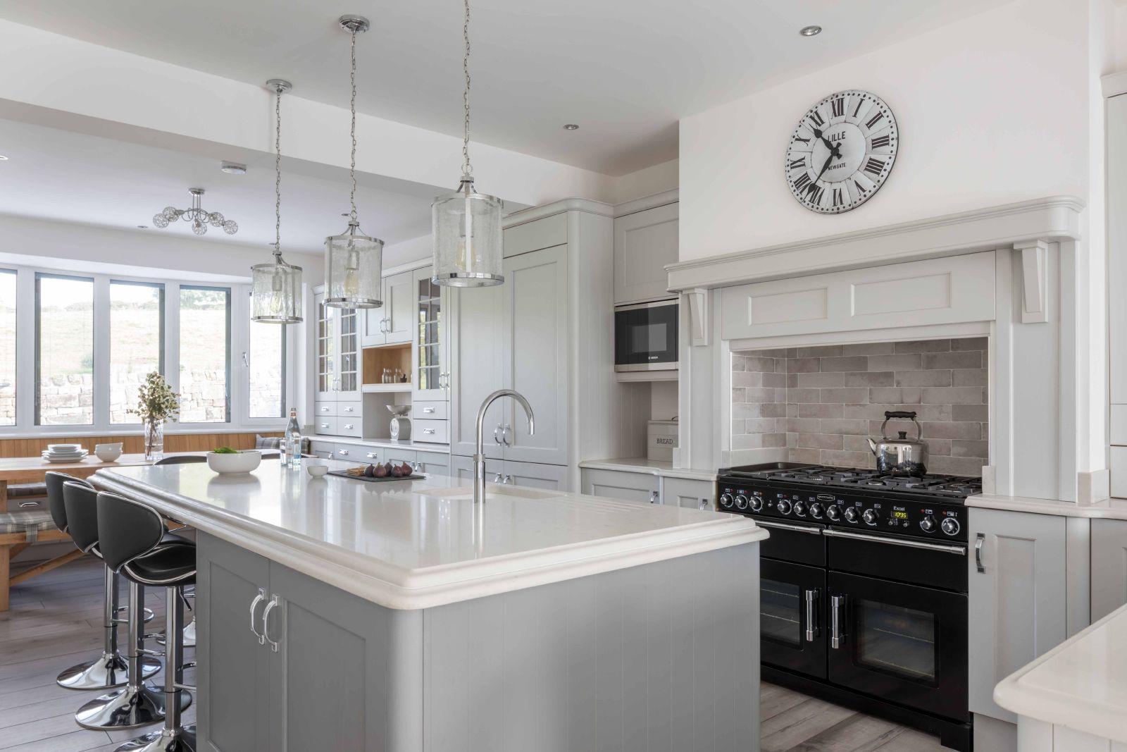 How To Decorate A Grey Kitchen Kitchen Inspiration Blog Masterclass Kitchens