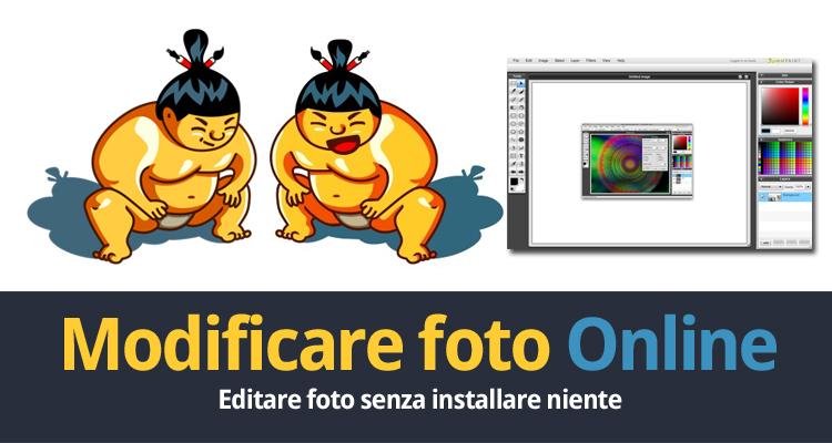 Modificare Foto Direttamente Online