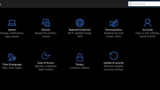 Come Impostare il Tema Scuro di Windows 10 Anniversary