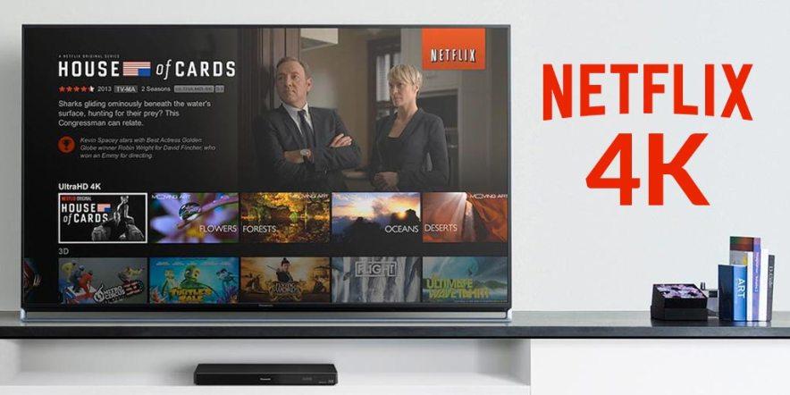 Come Guardare Netflix in Ultra HD e 4k dal Proprio Televisiore di Casa