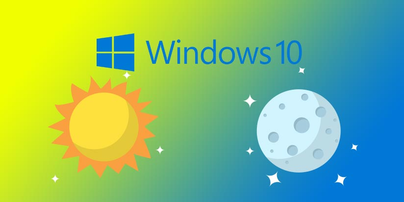 Come Attivare la Modalità Notturna in Windows 10 - Luce Notturna
