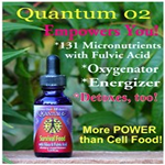Quantum O2 Micronutrients with Fulvic Acid