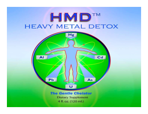 Heavy Metal Detoxification Toxicity Hazardous Substances