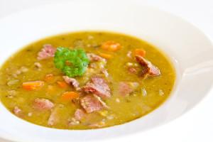 Yellow pea soup recipe with ham bone