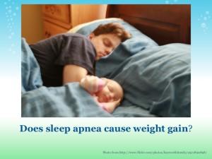 Does Sleep Apnea Cause Weight Gain Result