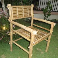 Bamboo Chairs Leather Dining