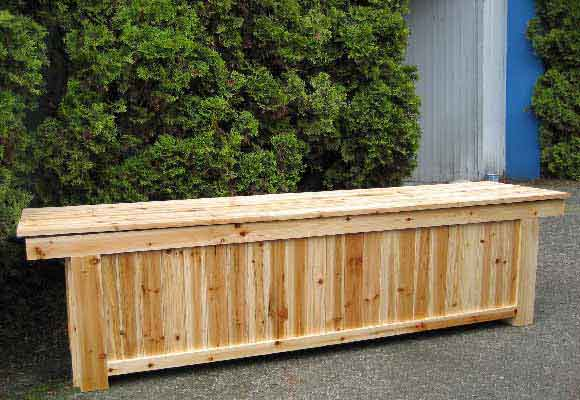 bench on your patio for extra storage our wooden storage benches are