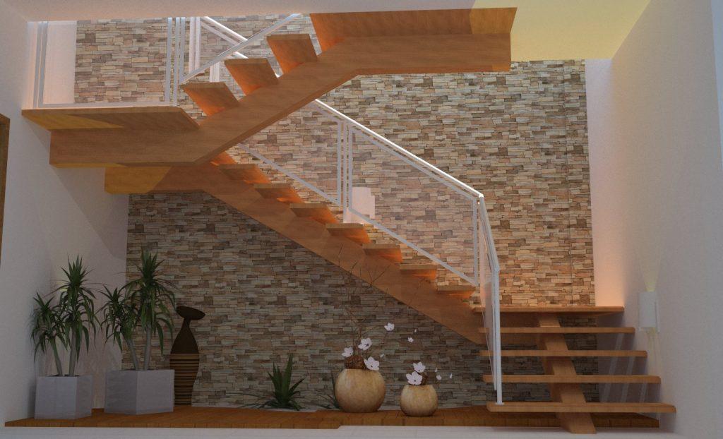 Como garantir segurana em escada  Master House