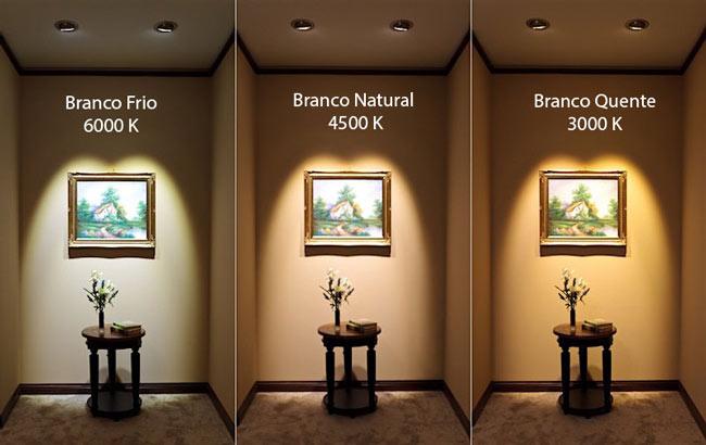 Luz quente luz neutra luz fria como compor  Master House Manuteno e Reformas