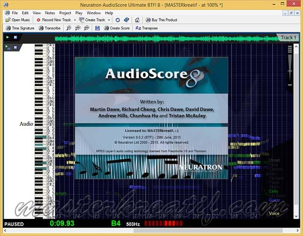 AudioScore Ultimate 8