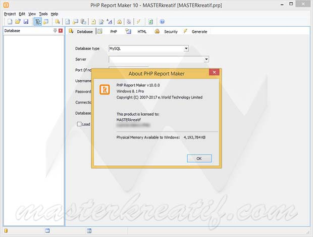 PHP Report Maker 10