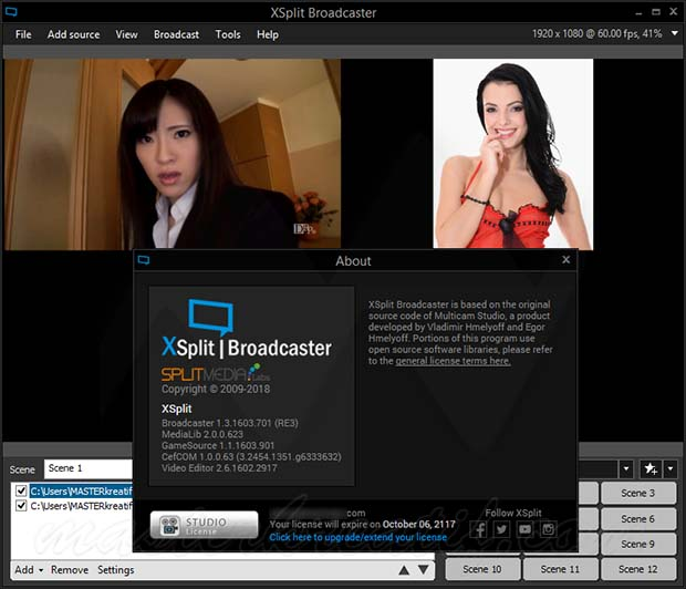 XSplit Broadcaster Studio Full