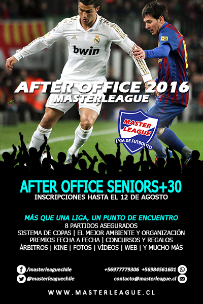 FLYER SENIORS CLAUSURA 2016 MASTER LEAGUE