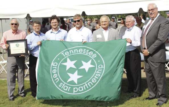 Tennessee Green Star Award