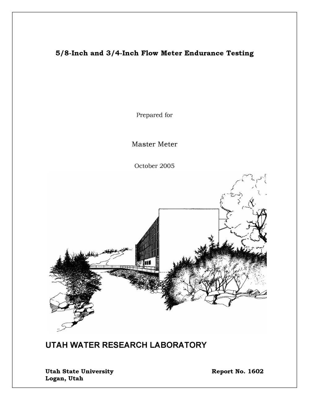 medium resolution of master meter blmj and pd meter endurance test report utah water research lab