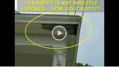 Soffit Rot Repair  Call ProMaster Cincinnati 513 3222914