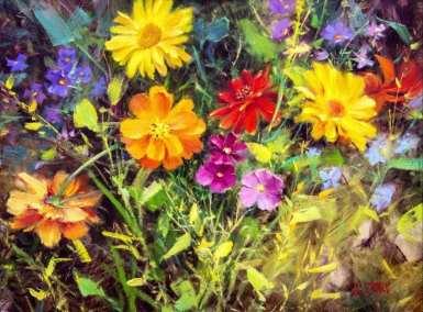 Marigolds & Daisies (2)