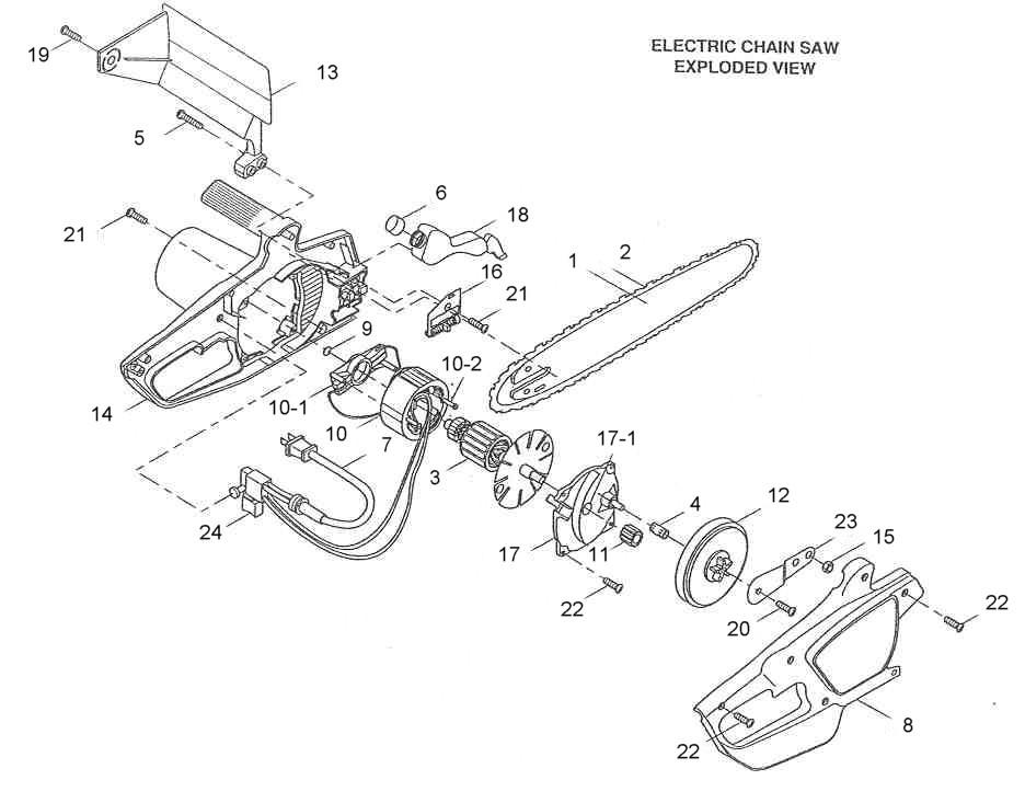 Remington electric pole saw parts.