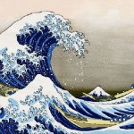 Famous The Great Wave Off Kanagawa painting by Katsushika Hokusai