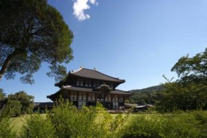 Todaiji, the hall of the Great Buddha