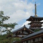 Buddhist temples in Nara. World Heritage