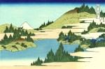 28. The lake of Hakone in Sagami Province