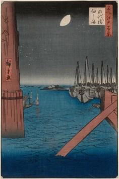 Tsukuda Island from Eitai Bridge