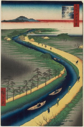 Towboats Along the Yotsugi-dōri Canal