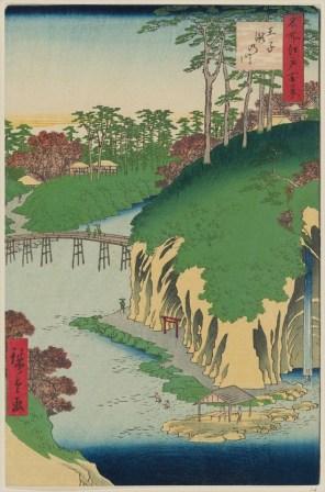River of waterfalls, Ōji