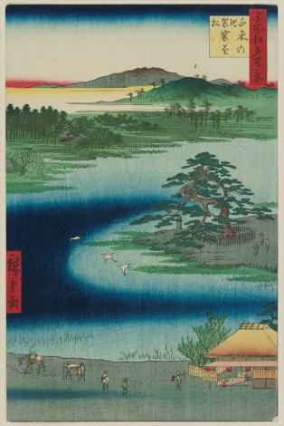 Robe-Hanging Pine, Senzoku Pond