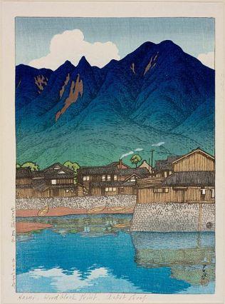 Mayuyama and the Port of Shimabara