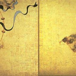 Tawaraya Sotatsu, Fujin and Raijin