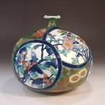 For luxury gift of Arita porcelain Japanese vase ! Buy online from Amazon