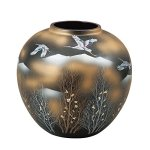 Kutani ware vase at Amazon. Perfect for Ikebana and gift