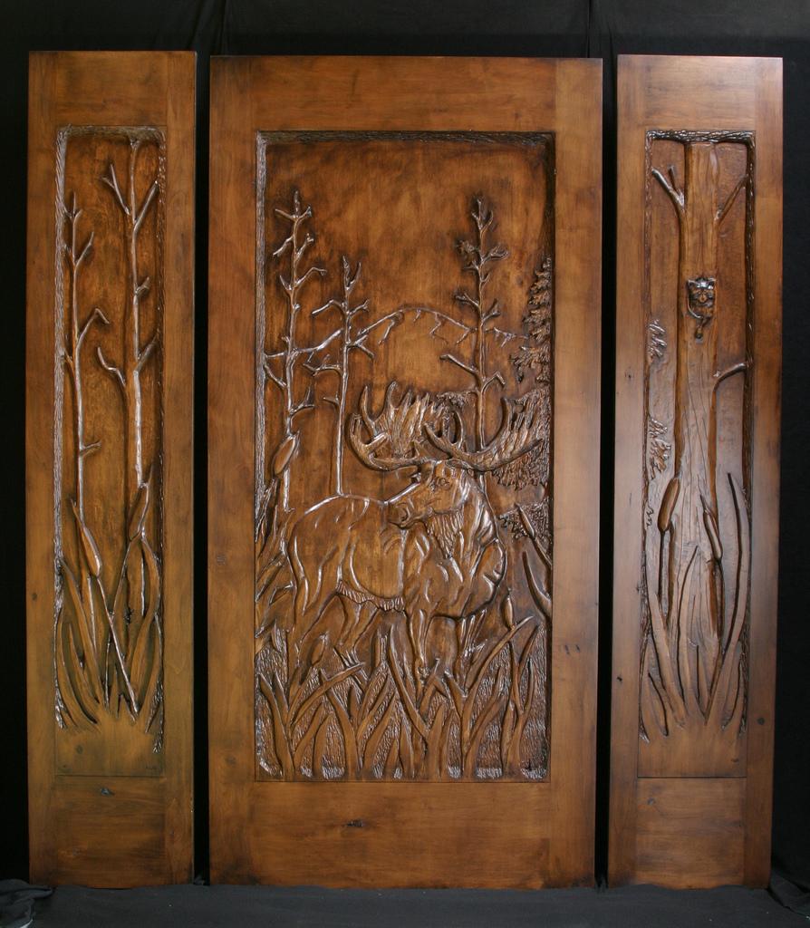 Hand Carved Doors 171 Masterpiece Wood Carved Doors