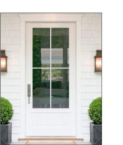 single farmhouse door