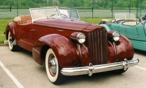 1939 Packard Super 8 Darrin Convertible Victoria