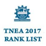 Tamilnadu Engineering Admissions Rank List 2017
